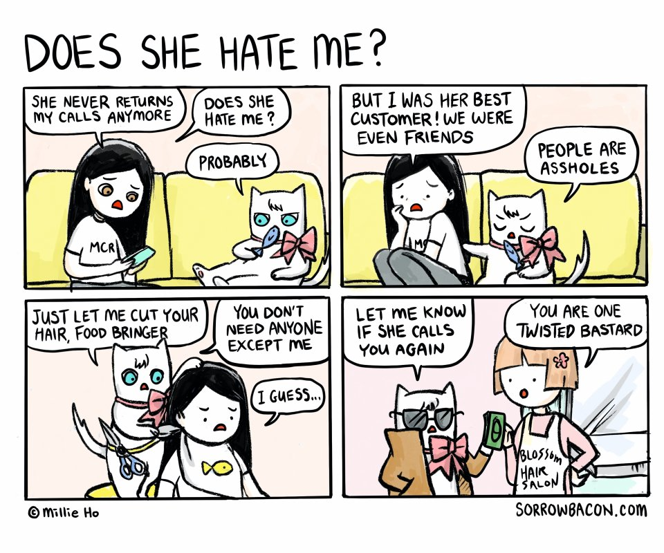 Does She Hate Me? sorrowbacon comic