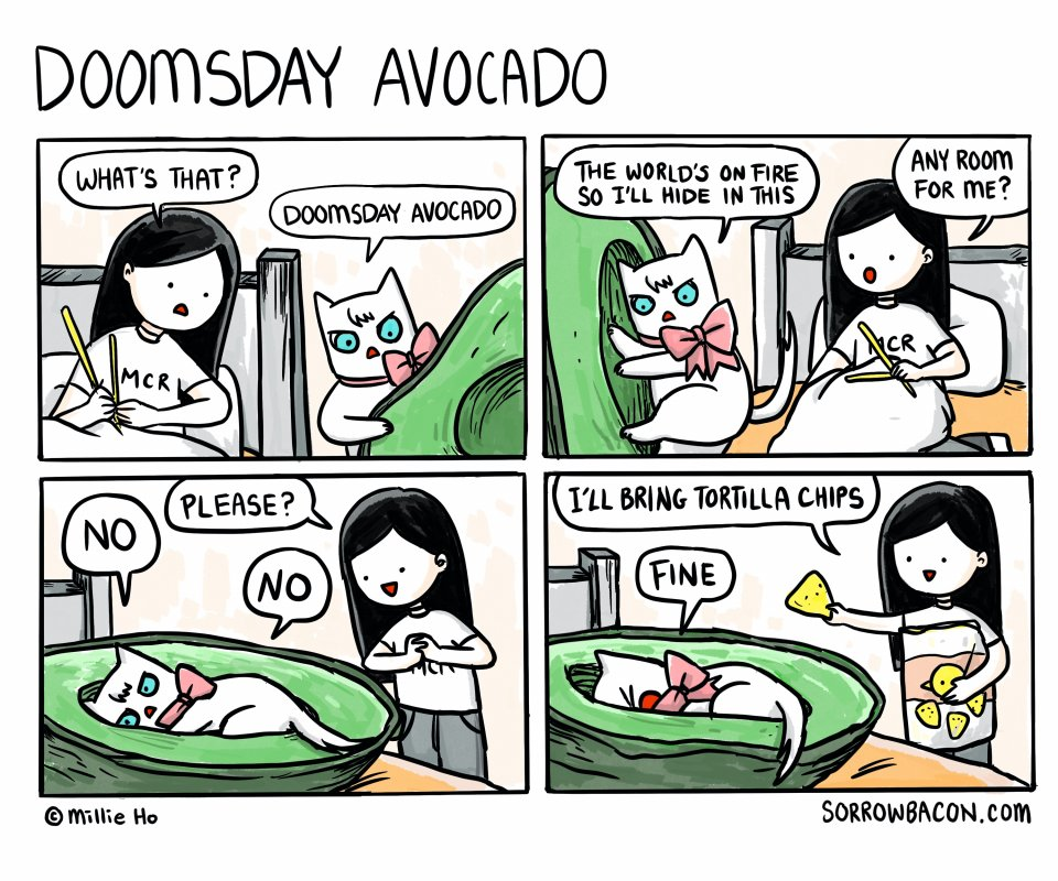Doomsday Avocado sorrowbacon comic