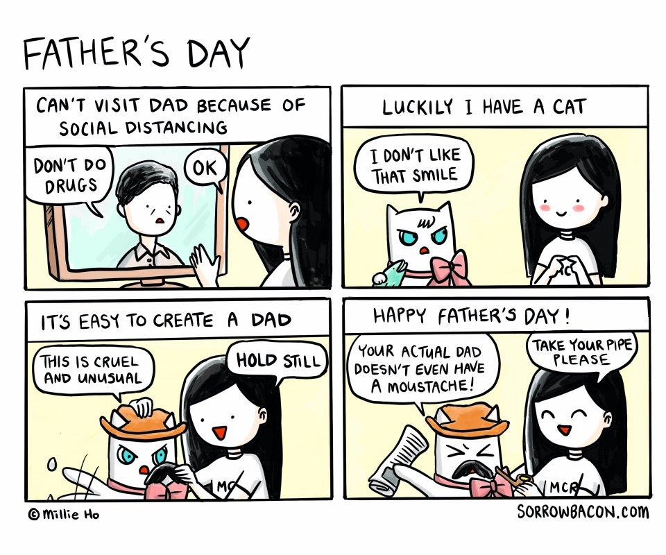 Father's Day sorrowbacon comic