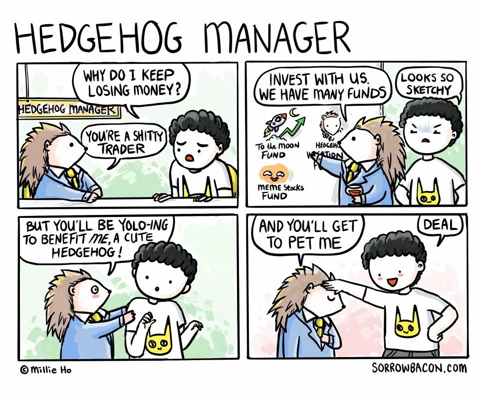 Hedgehog Manager sorrowbacon comic