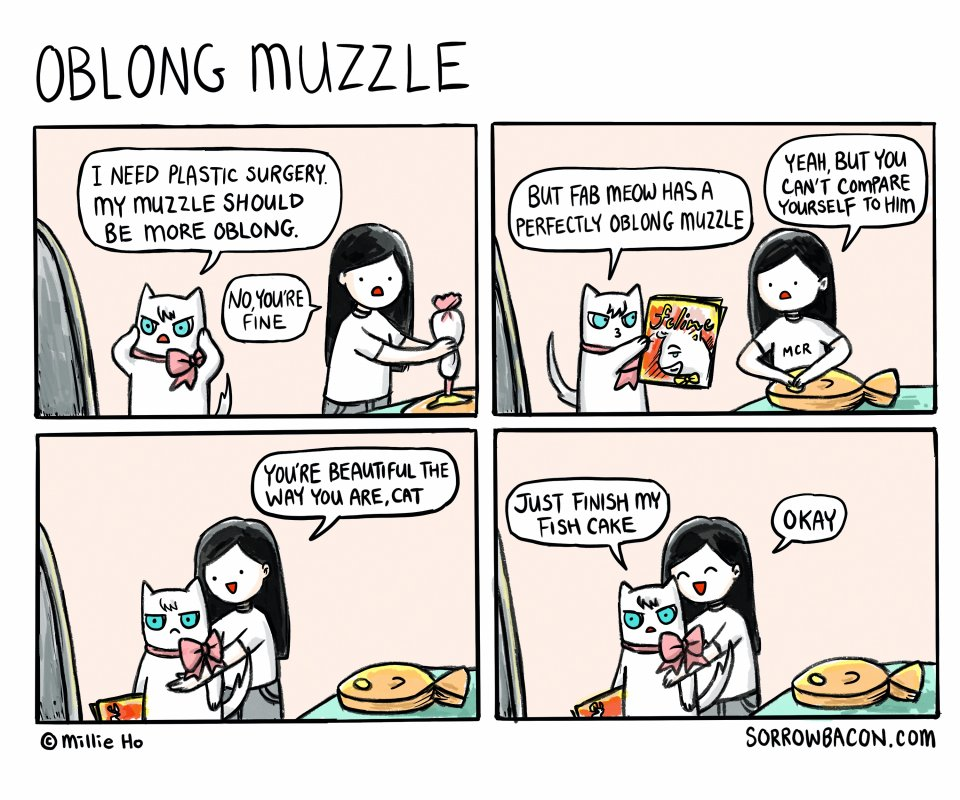 Oblong Muzzle sorrowbacon comic