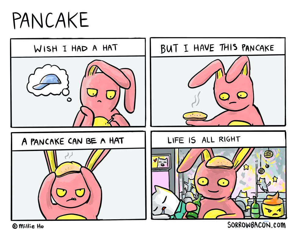 Pancake sorrowbacon comic