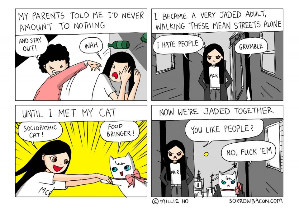 SORROWBACON Jaded Webcomic by Millie Ho