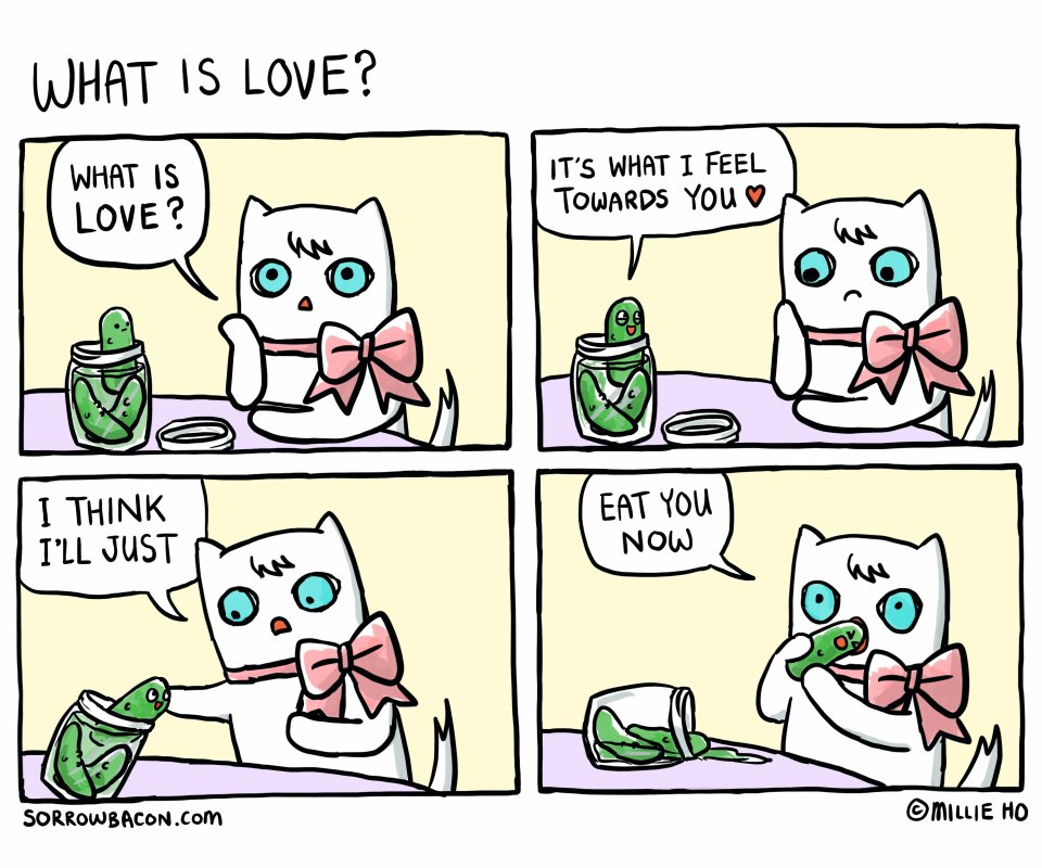 What Is Love sorrowbacon comic