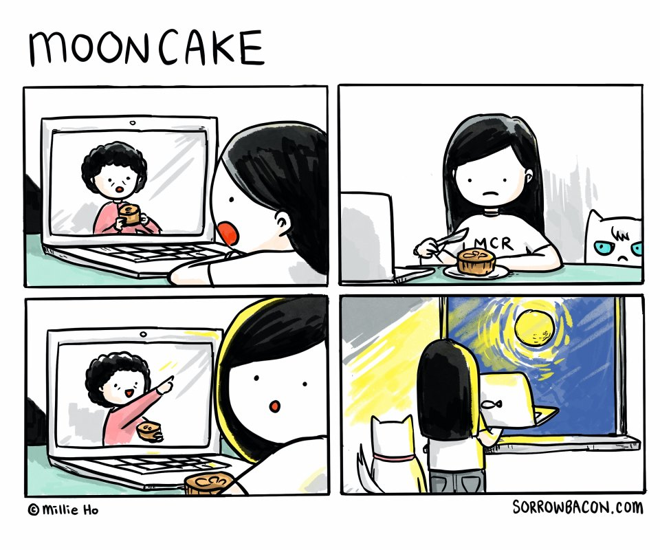 Mooncake sorrowbacon comic