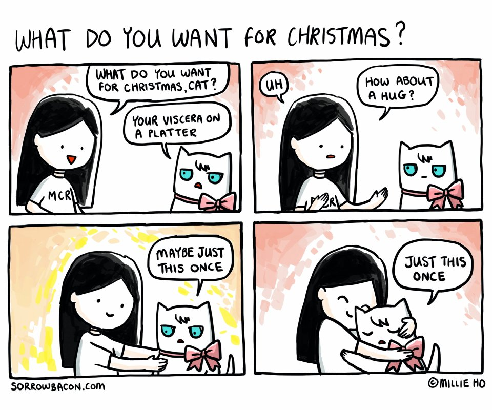 What Do You Want For Christmas sorrowbacon comic