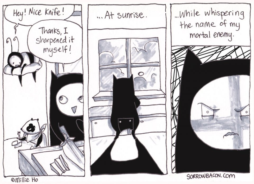 Innocent Compliment sorrowbacon comic